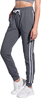 Women's Running Yoga Jogger Drawstring Sweatpants High Waist Sweat Pants with Pockets