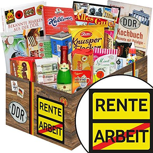Rente / Ossi Paket / Ruhestand Geschenkidee