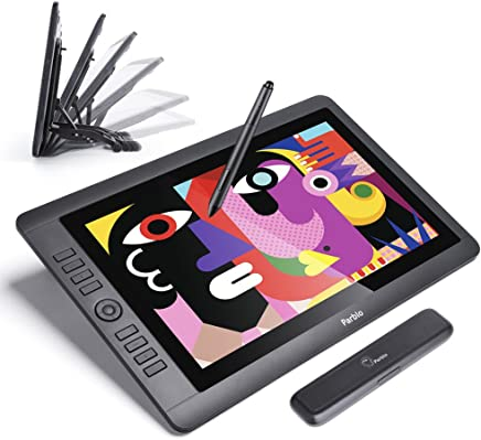 "Parblo Coast16 15.6"" Digital Graphic Monitor with Passive Pen of 8192 Pressure Levels + Parblo PR 100 Universal Tablet Stand Windows Mac"