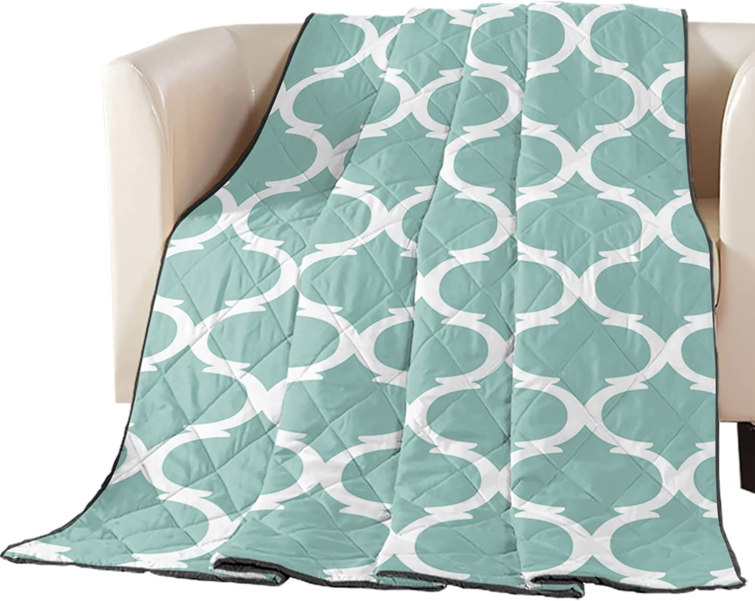 Arts Seattle Mall Print Oversized King Directly managed store Quilt Lightweight Throw Soft Bedspread