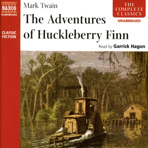 Huckleberry Finn audiobook cover art
