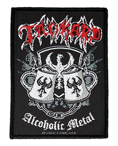 Tankard Aufnäher - Alcoholic Metal Patch - Gewebt & Lizenziert !!