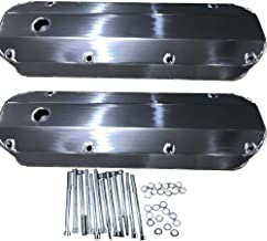Fabricated Aluminum Tall Valve Covers for BB Ford 429 460 1/4