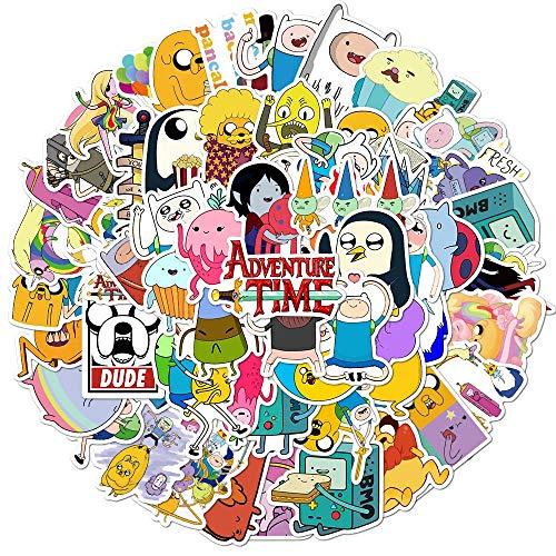 AXHZL Bolsa de Pegatinas de Anime para niños, papelería DIY, portátil, monopatín móvil, Maleta de Viaje, Pegatina de Dibujos Animados, 100 Uds.