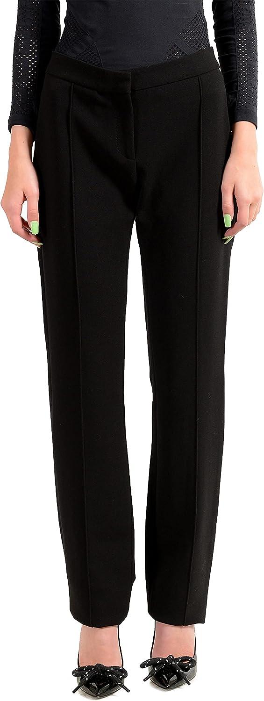 Just Cavalli Women's Black Casual Pants US S IT 40