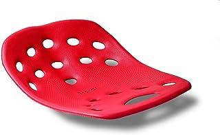 BackJoy zitkuip - orthopedisch zitkussen rood / poster +