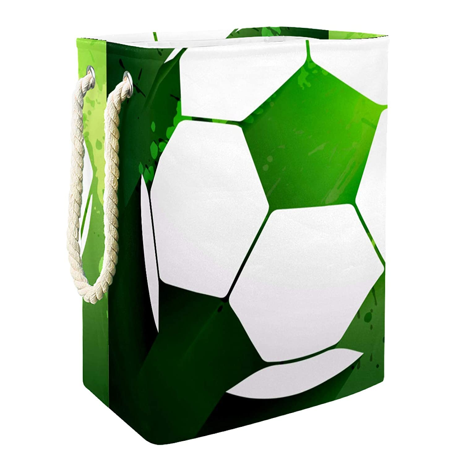 Laundry 70% OFF Outlet Hamper Soccer Storage Self-Standing Col Memphis Mall Box Waterproof
