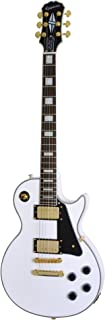 Epiphone Open Box ENCTAWGH1 Les Paul Custom Pro Electric Guitar - Alpine White