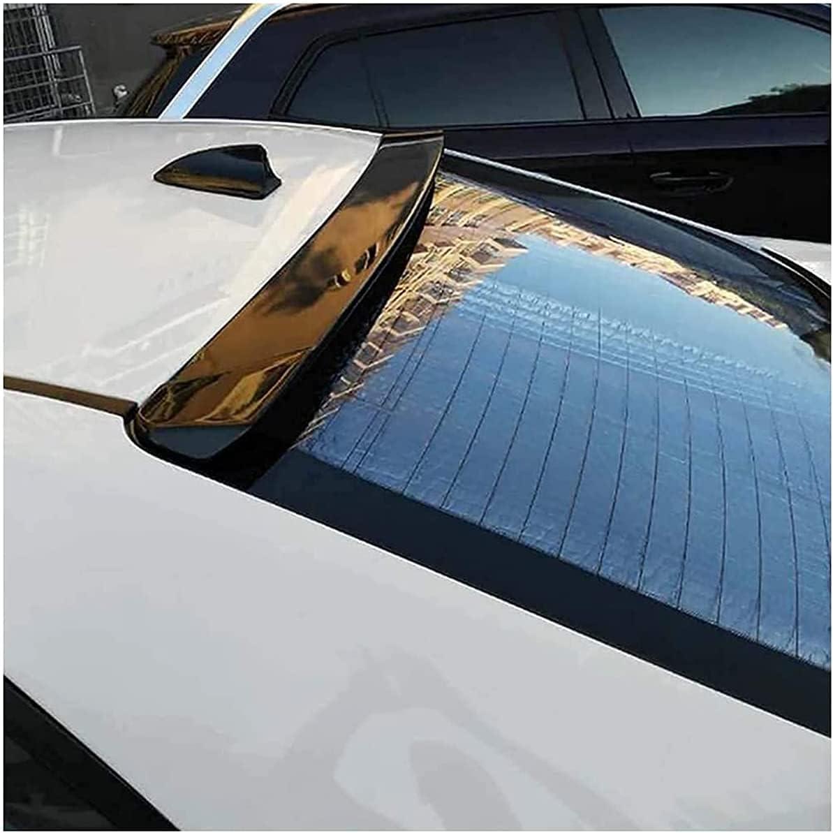 MJCDNB Alerones Traseros de Coche, para Chevrolet Cruze, alerón de Techo 2009-2014, ABS, Puerta Trasera, Parachoques, Parachoques, ala, Ventana, Parabrisas, modificación automática del Maletero,