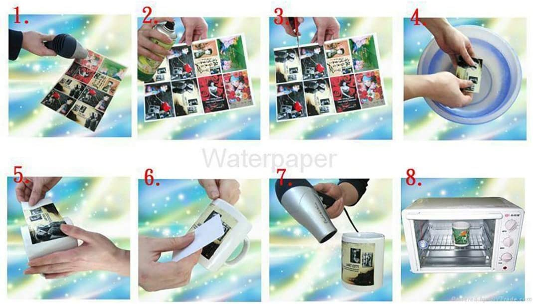 gaixample.org Paper Office Paper Products Clear 5Pcs A4 Water ...