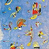 1art1 Wassily Kandinsky - Himmelblau, 1940 Poster Kunstdruck 40 x 40 cm