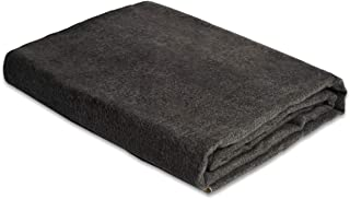 Andes Comfort Dark Gray Authentic Premium Super Soft Warm Cozy Alpaca Wool Blanket. Queen Size 90