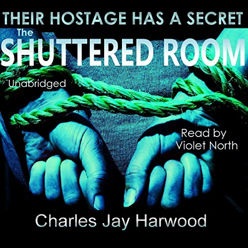 The Shuttered Room audiobook cover art