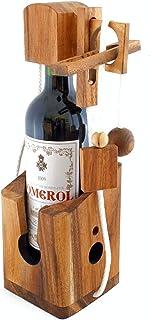 Dont Break The Bottle Fles Veilig Geduld Spel Magic houten 3D puzzel Het puzzelspel voor volwassenen Fles puzzel Mind Game