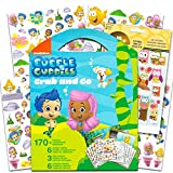 Bubble Guppies Sticker Coloring Activity Set Bundled with Bonus Puffy Stickers
