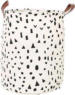 Koala Superstore Home Organizer Fashion Foldable Round Laundry Basket, NO.14