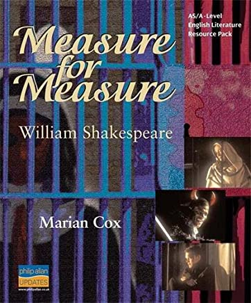 AS/A-Level English Literature: Measure for Measure Teacher Resource Pack