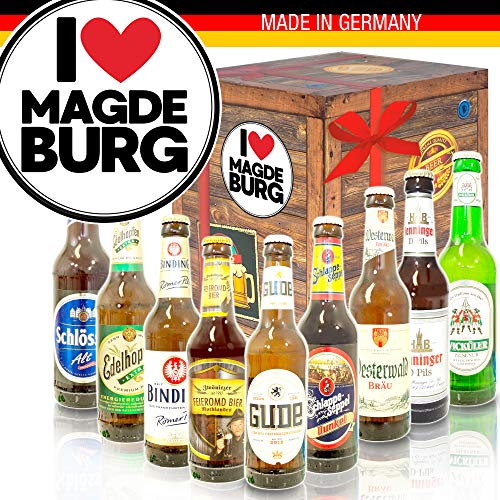 I love Magdeburg/Deutsche Biere/Magdeburg Geschenk Paar