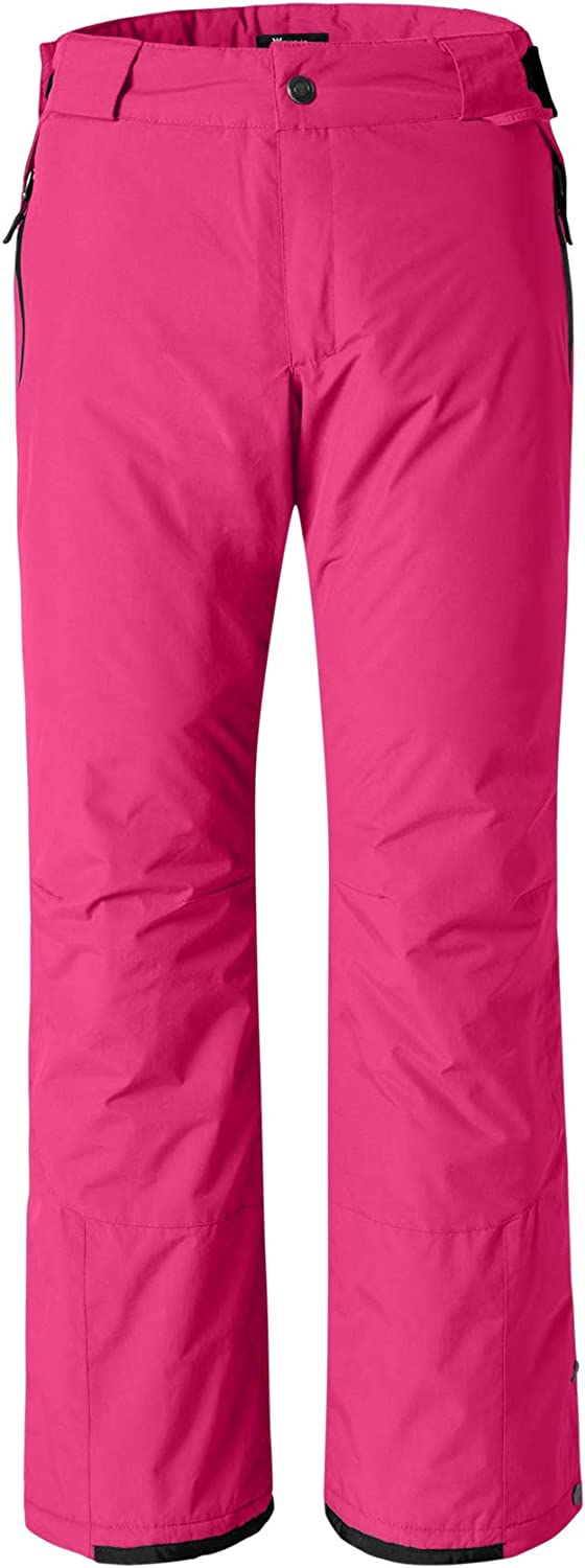Wantdo Women's Waterproof Warm Padding Insulated Outdoors Snow Pants