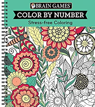 Brain Games - Color by Number  Stress-Free Coloring  Green