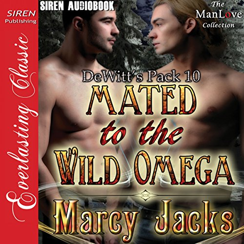 Mated to the Wild Omega audiobook cover art