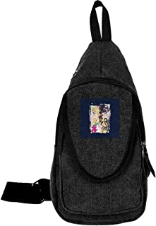 Sailor Moon Luna Traveling Chest Bags For Men&Women Multipurpose Casual Daypack Hiking Shoulder Bag