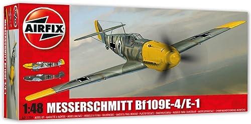 Airfix - Ai05120a - Maquette - Aviation - Messerschmitt Bf109e-4 e-1 - Echelle 1 48