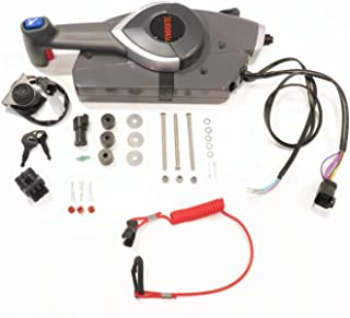 The ROP Shop | Remote Control Side Mount for OMC Johnson Evinrude 5006180, Outboard Control Box