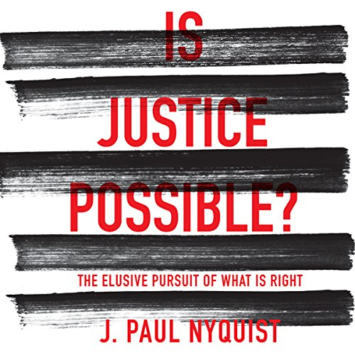 Is Justice Possible? audiobook cover art