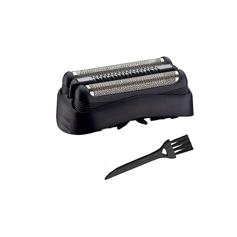 Pièce De Rechange 32B Noire Pour Braun les rasoirs Series 3 320 330 340 350CC Rasoir avec brosse de nettoyage libre - 32B Foil & Cutter