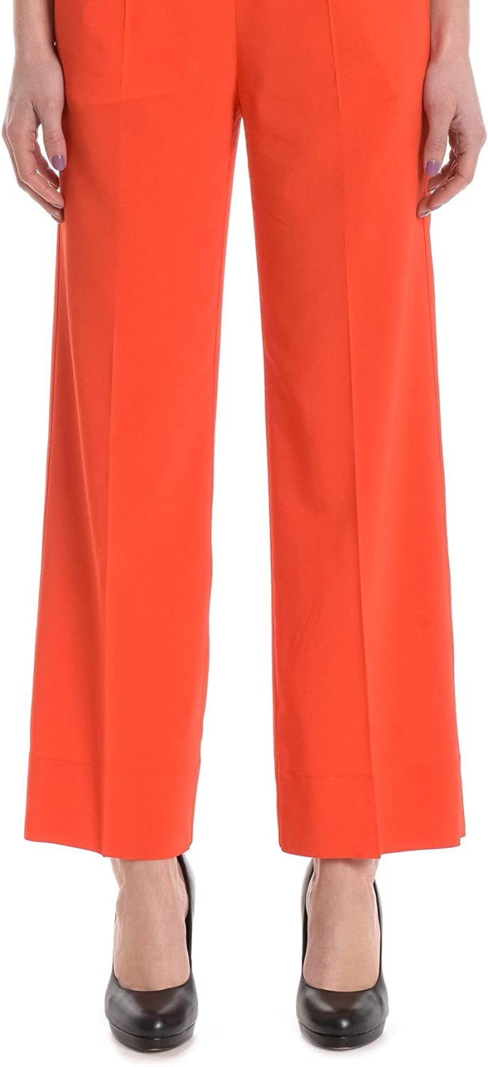 JUCCA Women's J27141051499 Red Viscose Pants