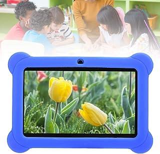 Tablet PC infantil, 7 polegadas 1 GB + 8 GB WiFi HD Quad Core tablets Android crianças com capa de silicone, alto desempen...