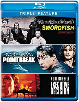 Executive Decision / Point Break / Swordfish  Triple Feature  [Blu-ray]