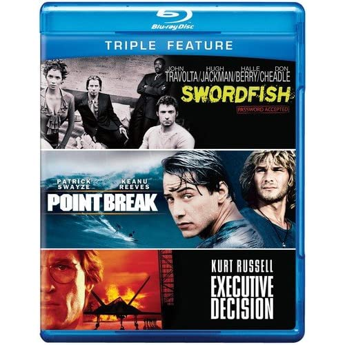 Amazon.com: Executive Decision / Point Break / Swordfish (Triple Feature) [Blu-ray]: Executive Decision / Point Break: Movies & TV