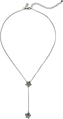 Kate Spade New York Blooming Pave Bloom Y Necklace
