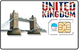 UK SIM Card 10GB Data Unlimited Calling