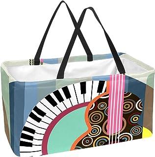 Rectangular Storage Box, Collapsible Storage Basket Bins Organizer with Handles for Kids Room,Shelf Basket,Toy Organizer (...