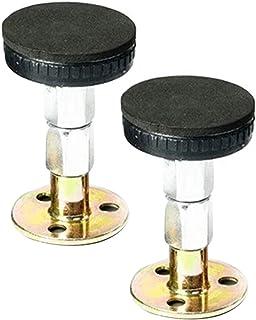 Niazi Herramienta ajustable para marco de cama antivibraciones, 2/4 piezas, herramienta de rosca para el cabecero de la cama para evitar que se afloje.