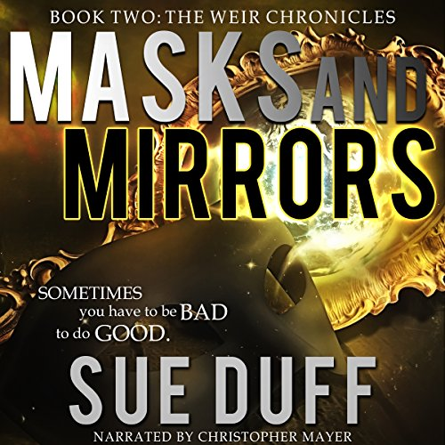 Masks and Mirrors audiobook cover art