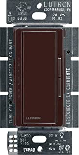 Lutron Maestro C.L Dimmer Switch for Dimmable LED, Halogen & Incandescent Bulbs, Single-Pole or Multi-Location, MACL-153M-BR, Brown