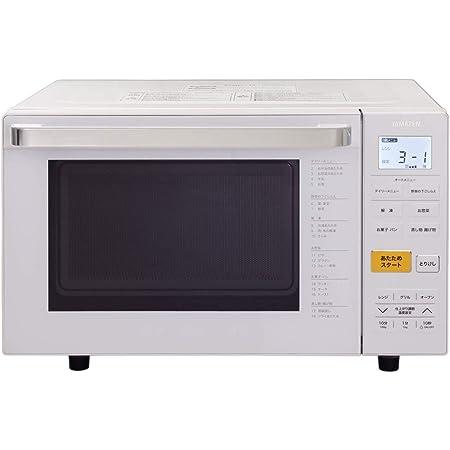 [山善] オーブンレンジ 18L フラットタイプ ワンタッチメニュー搭載 角皿付き ホワイト YRJ-F181V [メーカー保証1年]