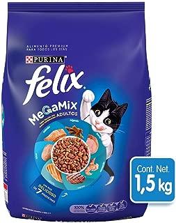 Felix Croquetas para Gato, Megamix, 1.5Kg