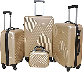 NEW TRAVEL Luggage HARD set 4 pieces size 28/24/20/12 inch BR860/4P