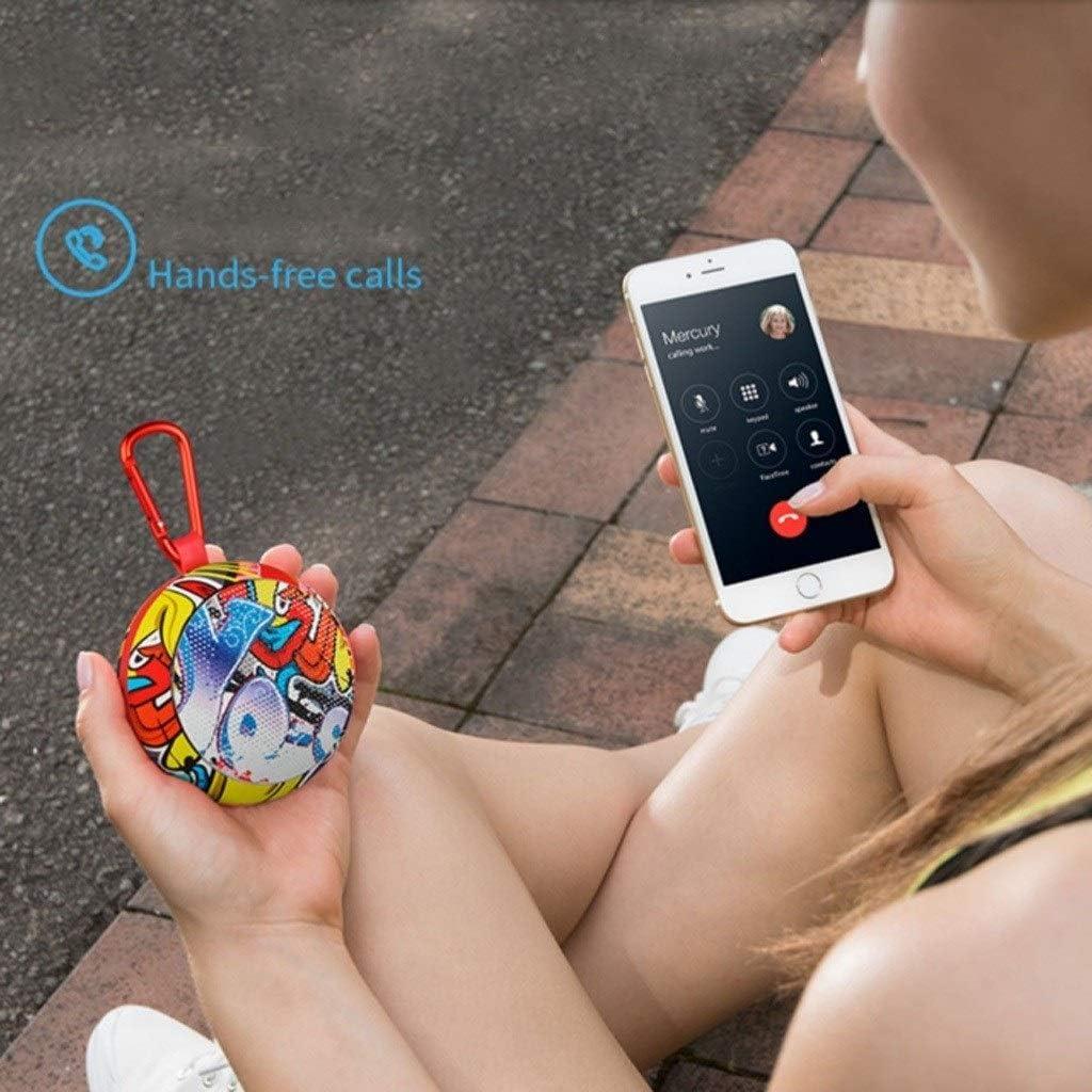 Color : B LEZDPP Smart Wireless Bluetooth Small Sound Outdoor Running Sports Cycling Portable Mini Mini Cute Creative Subwoofer