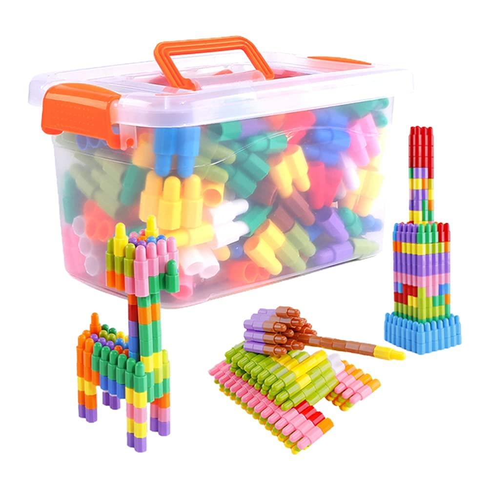 270Pcs Set Kid Building Construction Gorgeous Educational Blocks Now free shipping