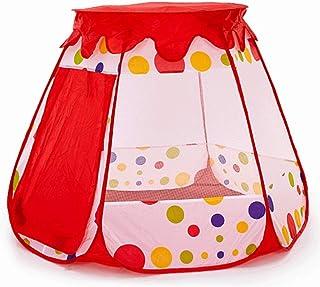 Glzcyoo Princess Pop Up tält för småbarn och flickor (No Assembly krävs), vikbar och bärbar med en bärväska, som Playhouse...
