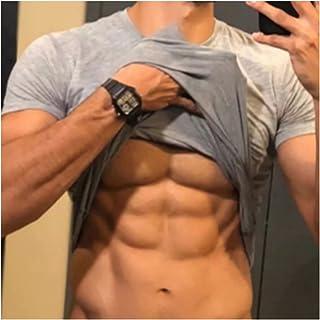 Músculo de Silicona Ropa de músculos Falsos, músculos de Busto de Silicona realistas, Trajes de músculos de Silicona (Colo...
