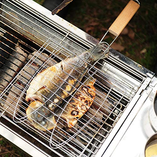 YYF Grillgitterclip Outdoor-Grill-Tools Grill Netto-Grill Netto-Clip Fisch Grill Clip gegrillten Fisch Clip gegrillt