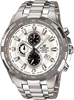 Casio Casual Watch Analog Display For Men Ef-539D-7Av, Silver Band