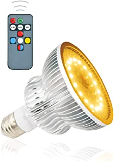 Growing Light Bulbs,MOWASS LED Grow Light,Plant Lamp with Timer,LED Plant Light Bulb Full Spectrum Lamp for Indoor Plants,No Noise,Good Heat Dissipation for All Growth Periods (50W 64LEDs,E26/E27)